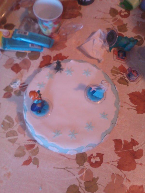 2 h pour faire le gateau de ma filles pour sont anniversaire