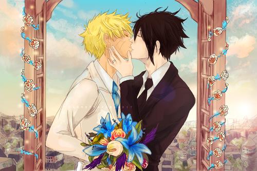 narusasu *_* mariage !!!