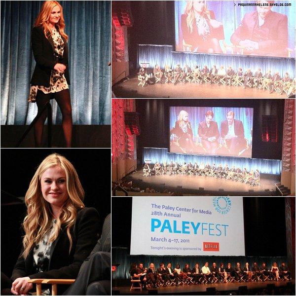 Le 5 Mars Anna et tout le casting de True blood etaient au Paleyfest ( Suite )