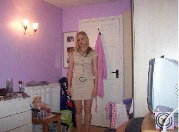 vous trouvez ma robe comment?