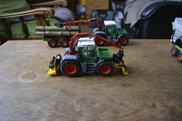 Fendt Xylon 524 forestier