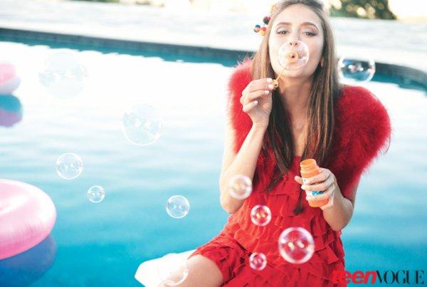 """Nina Dobrev """"Teen Vogue"""""""