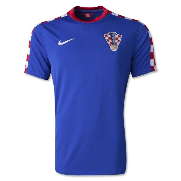 free shipping ac234 88e2a Thailand Version Croatia 2014 World Cup Away Soccer Jersey ...