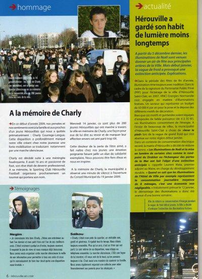 hommage   A la mémoire de Charly...