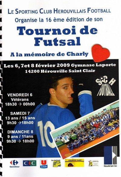 Tournoie de Futsal  A la mémoire de Charly
