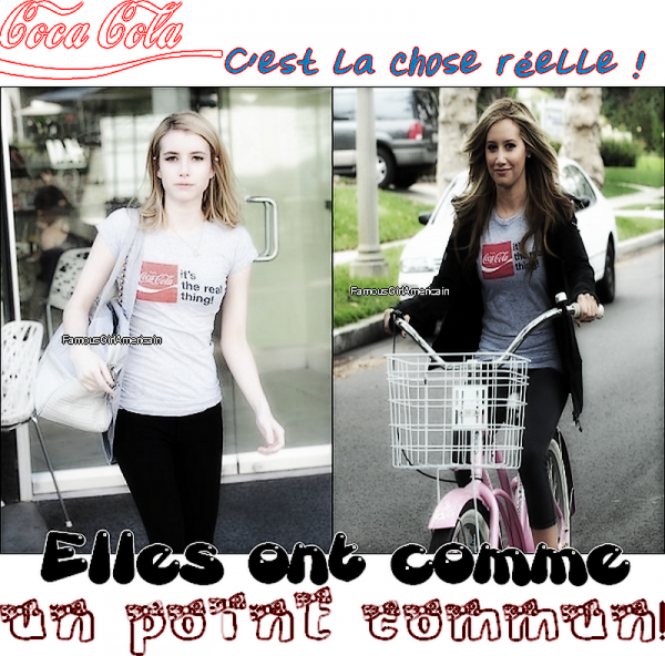 Emma Roberts et Ashley Tisdale;comme un point commun. - Article 04.