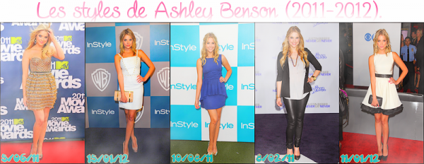 Les styles d'Ashley Benson ; partie 1 - évents. - Article 05.