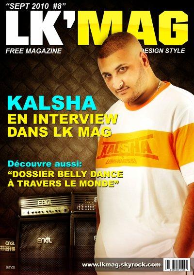 LK MAG#8 SEPTEMBRE 2010 SPECIAL KALSHA LE MEKNESSI
