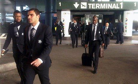 L'arrivée des Olympiens à Milan