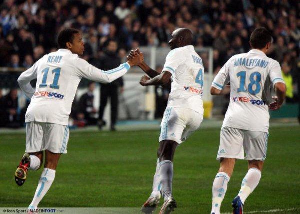 Matchs - Marseille 1 - 2 Dijon