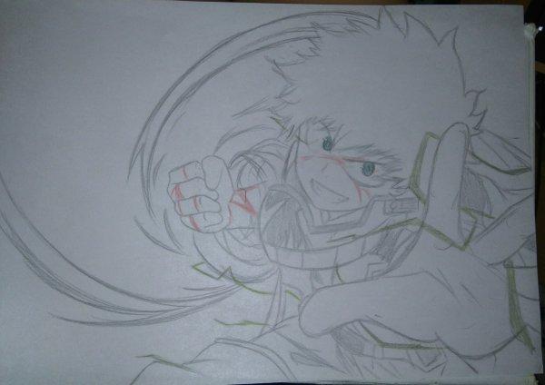 Deuxième dessin d'Izuku. Avis please. :3