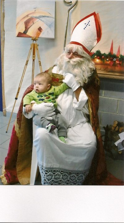 Mon bébé et saint-nicolas
