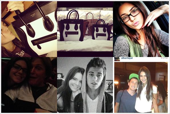Divers : Photos personnelles de Kendall postées sur Instagram ou Twitter