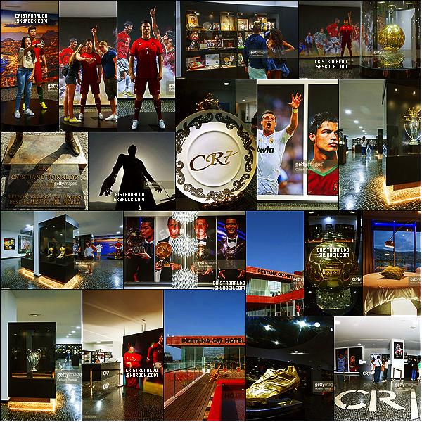 .  Quelques images de l'Hotel & Musée de Cristiano Ronaldo à Madère au Portugal !   .