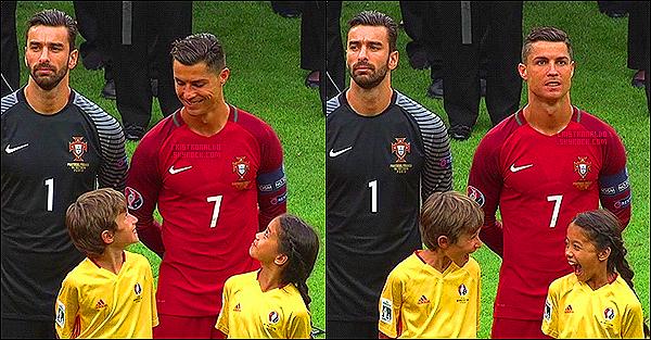 .  Voilà la réaction d'enfants quand ils rencontrent la star Mondiale Cristiano Ronaldo ! ;D    .