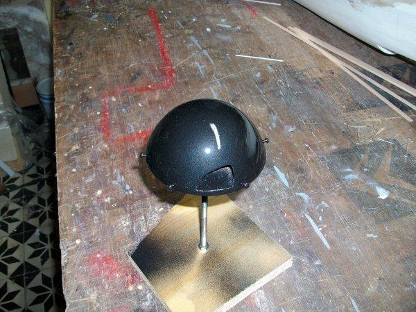 Voici le cône d'hélice terminé ...