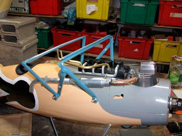 Montage radio ...moteur et divers équipements