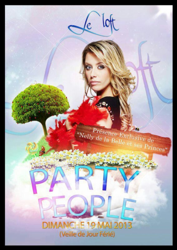 ●○•ºPARTY PEOPLE!!Speciale NELLY de la Belle et c'est princesº•○●