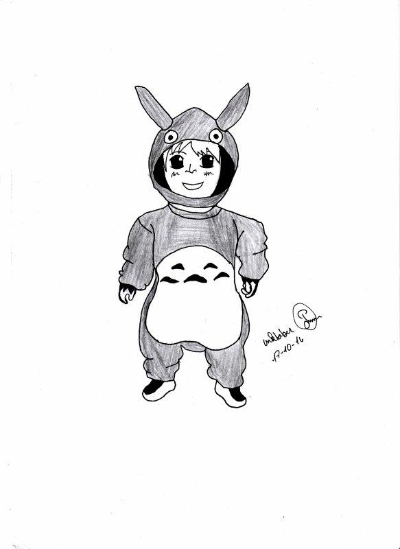 bébé totoro