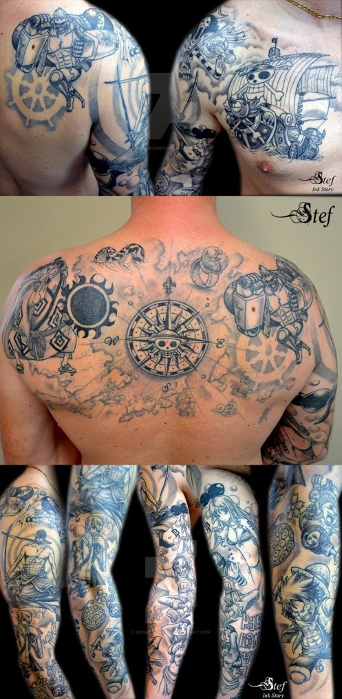 Tatouage one piece blog de theo law tattoo for One piece law tattoos