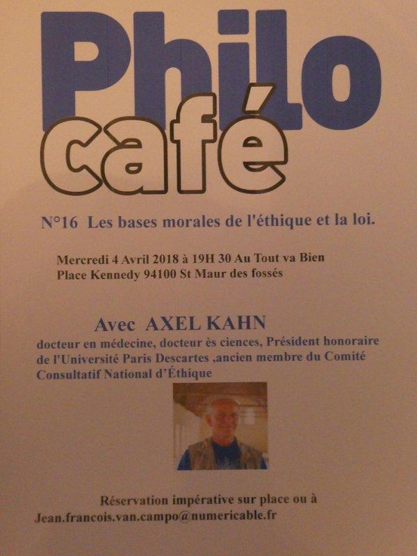 Café Philo Saintmaurien N°16