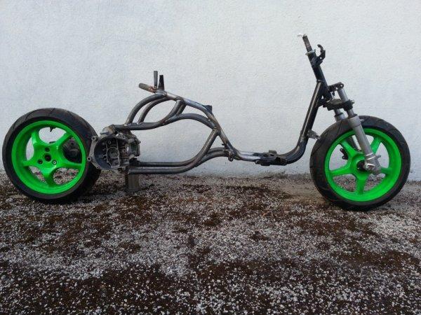 Cadre du nouveaux bicylindre
