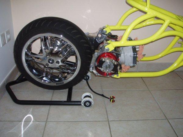 Montage du spitro bicylindre en cours