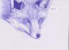 Un renard tout simple