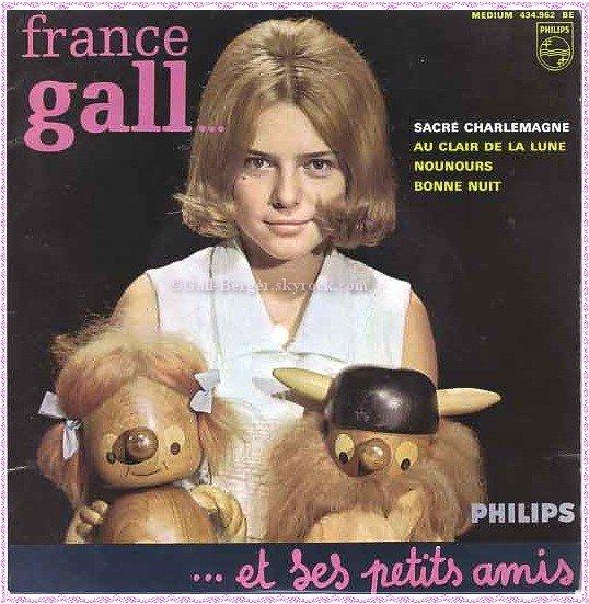 Carrière artistique France Gall- Débuts