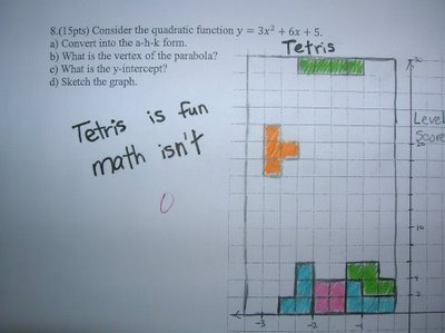 Tetris VS Math