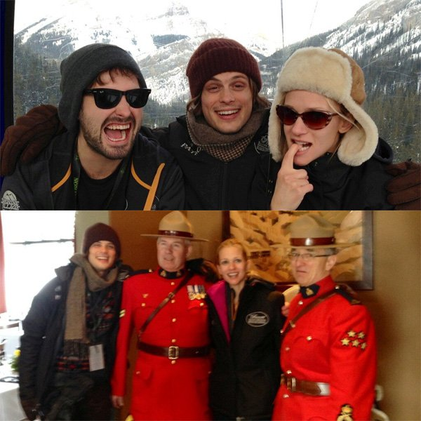 Matthew Gray Gubler et Aj Cook à Banff (post n.2)