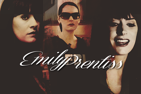 * PERSONNAGE;  Emily Prentiss *