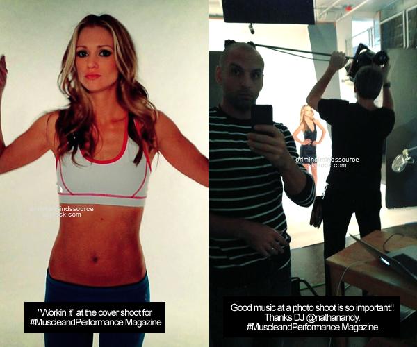 * 06/03/2013 nouvelle photos d'AJ Cook qu'elle à posté sur Twitter *