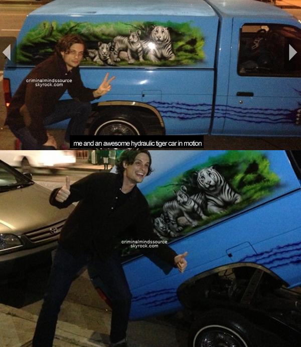 * 16/03/2013  Paget Brewster à annoncé ses fiancailles avec Steve Damstra sur Twitter *