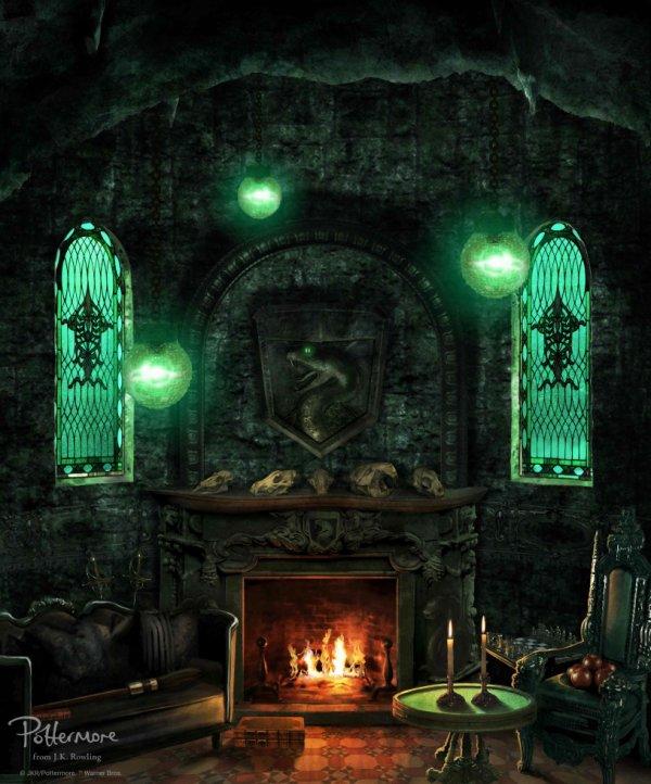 Serpentard et sa salle commune