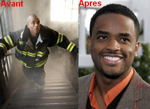 "RESCU ME, LES HEROS DU 11 SEPTEMBRE : Bart ""Black Shawn"" Johnston - Larenz Tate"