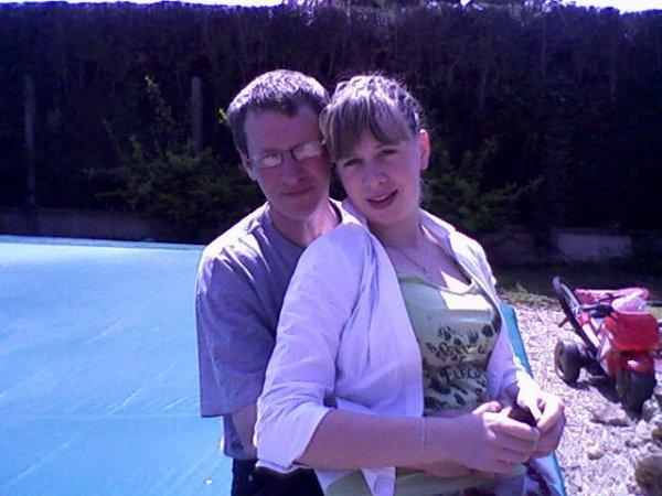 Mon Papa et moi ! <3  Je t'aime !!!! Tu me manques !