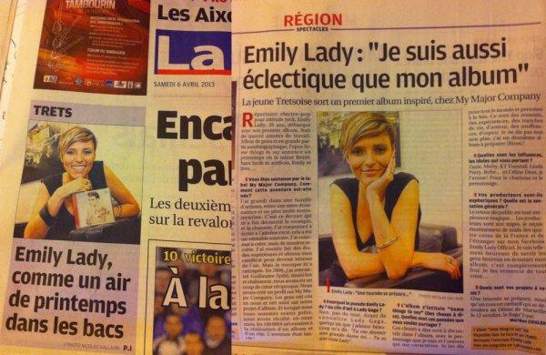 "La presse s'empare du ""phénomène""^^   Emily Lady !!"