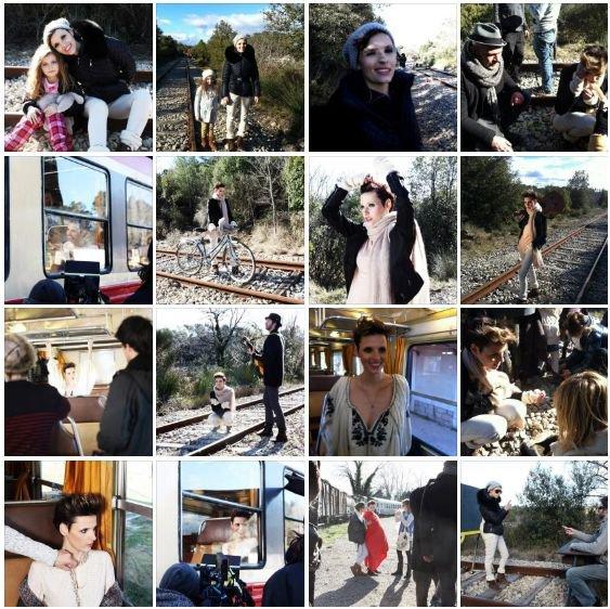 Making of du clip LOLA  (Opé sur tél mobiles!)
