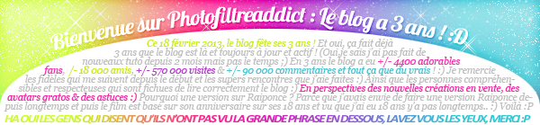 --Version ANNIVERSAIRE sur Photofiltreaddict--