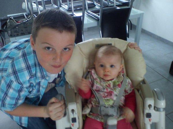 Mon fils et mà fille