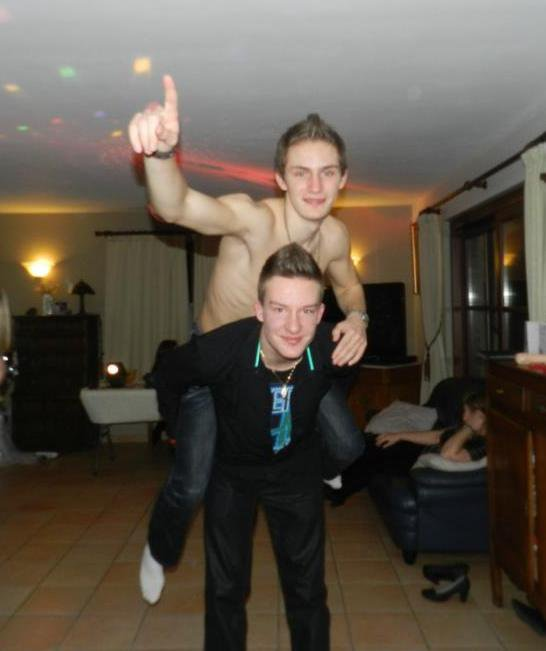 Moi et Julien !