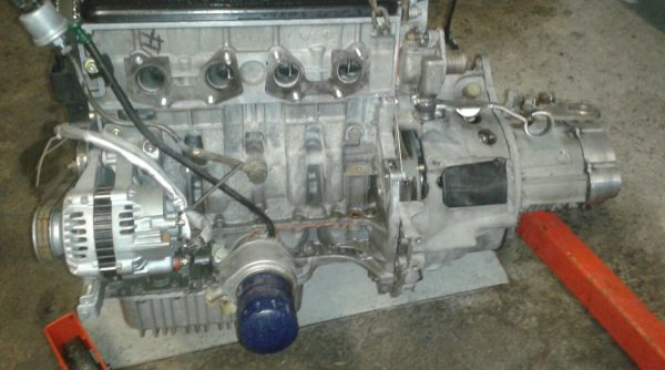 Assemblage moteur boite ax maxi f2000