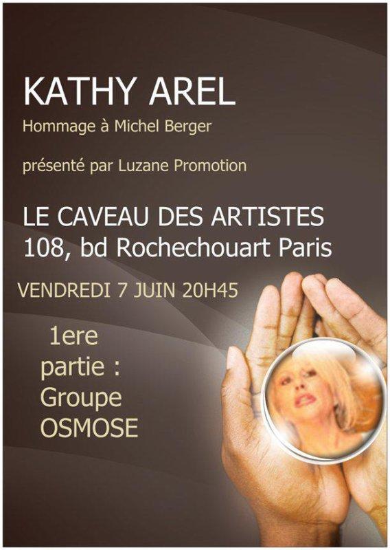 PROCHAIN CONCERT DE MON AMIE KATHY AREL