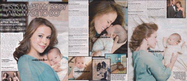 La jeune et heureuse maman pose fièrement avec son petit bout de choux dans les magasines! Voici les scans des magasines GALA et Us Weekly ! Merci à HEAVEN-LYSSA pour les scans !     Milo est tout mignon sur toutes les photos & Alyssa est tout simplement PARFAITE !