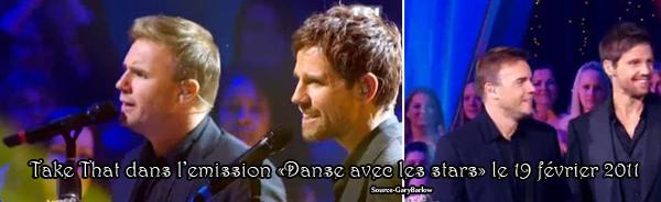 "Ta Source sur Gary Barlow ♥ This Man Is Just Perfect ♥ Emission ""Danse avec les stars"""