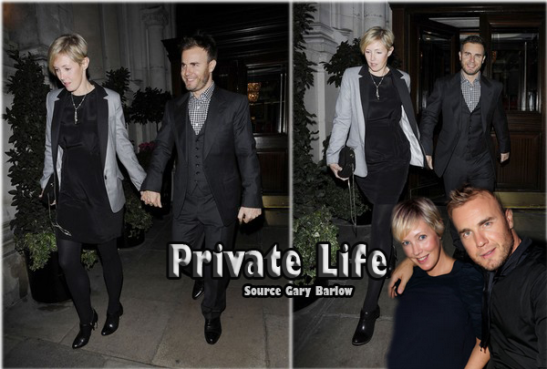 Ta Source sur Gary Barlow ♥ This Man Is Just Perfect ♥ Private Life