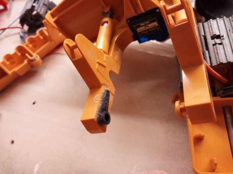 Réparation du petit D5