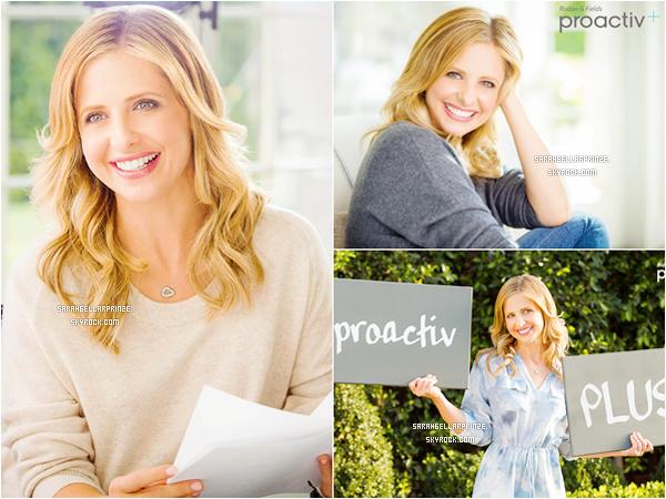 - Découvrez un nouveau photoshoot de Sarah pour la marque « ProActiv » -