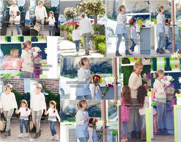 - 06/04/2015 : Sarah a été vue avec sa fille Charlotte à la boutique de fleur « Lemonade » à Santa Monica.  Sarah a passé une après-midi mère-fille avec Charlotte dans la boutique qui consister à créer des bouquets de fleurs. -